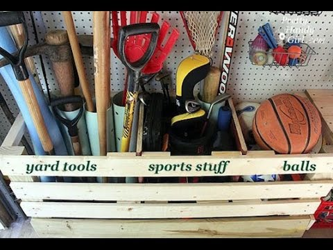 DIY Garage Storage DIY  TIPS AND IDEAS FOR KEEPING YOUR GARAGE ORGANIZED