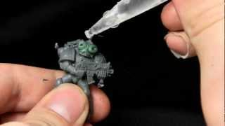 Painting a Golden Daemon Winner: Dark Angels Space Marine from Dark Vengeance