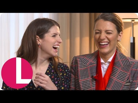 Blake Lively Says Anna Kendrick Is the Female Ryan Reynolds (Extended Interview) | Lorraine