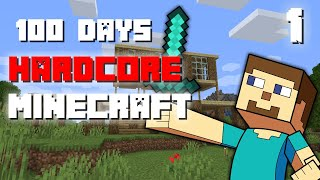 I Survived 100 Days In Minecraft Hardcore PART 1