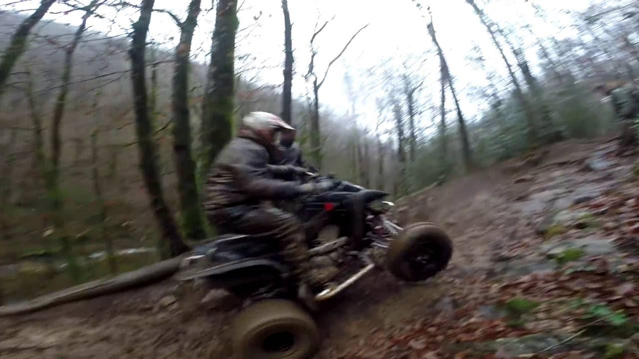 Atv Vs Mud Crash Can Am Renegade 1000 Xxc Ltz 400 450 Yfz