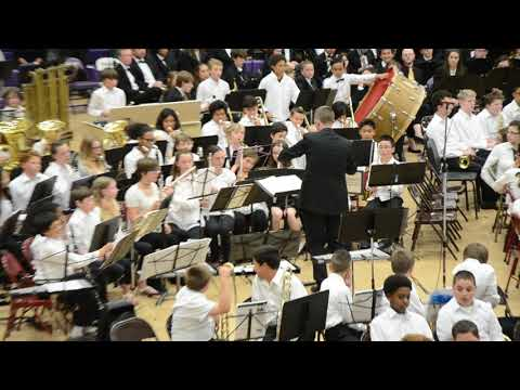 Oak Harbor Intermediate School Advanced Band:  Desert Fire