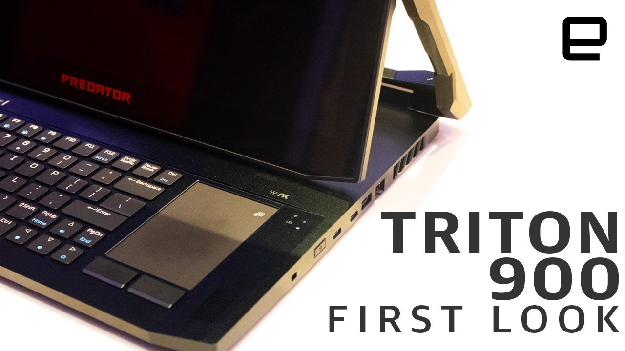 Acer Predator Triton 900 First Look A 4 000 Gaming