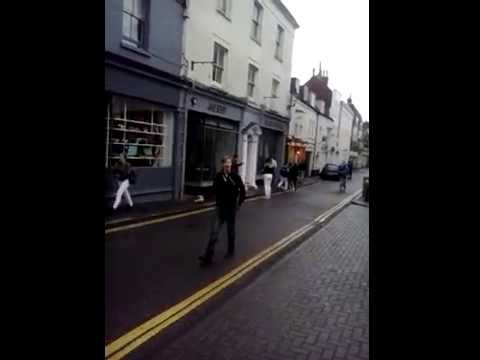 Attacked on behalf of Sussex police in Ship Street, Brighton