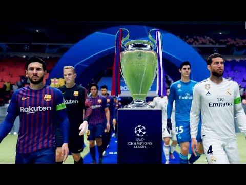 FC Barcelona Vs Real Madrid | Final UEFA Champions League 2018/2019 | FIFA 19