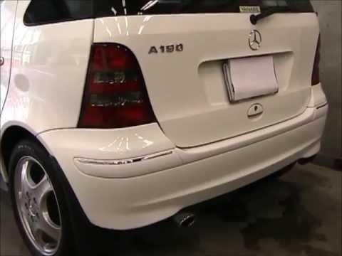 Benz A190 (W168) の板金塗装修理.東京都内のお客様 荒川区の和光自動車