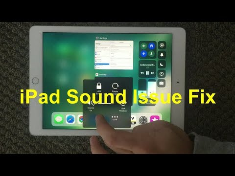 IPad Sound Problem And Fix, How To Fix Sound Issue On IPhone Or IPad