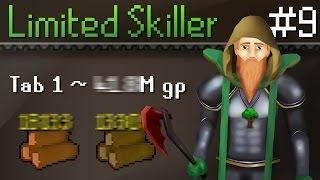 I Buy Skills Limited Level 3 Skiller Challenge Episode 9 - SO MUCH GP MADE!