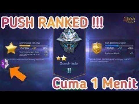Cara Naik Ranked Dengan Cepat Menggunakan Cheat 100% WORK!!! Mobile Legends Indonesia