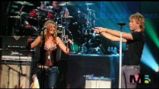 Bon jovi and Sugarland Living on a Prayer Video