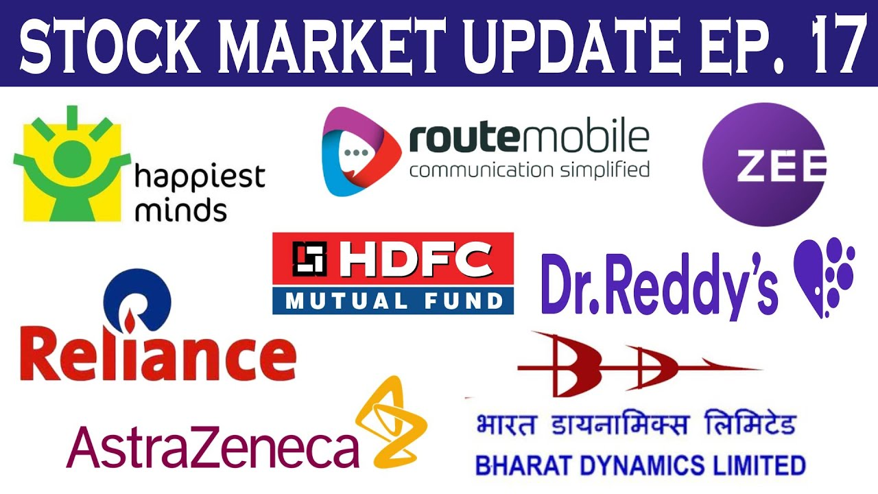 Stock Market Update: Reliance, Zee, HDFC AMC, Dr. Reddy, Happiest Minds IPO, Route Mobile IPO