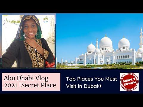 Abu Dhabi Vlog 2021 | Burj Khalifa | Grand Mosque | UAE Travel Vlog | Top Places You Must Visit ✈️