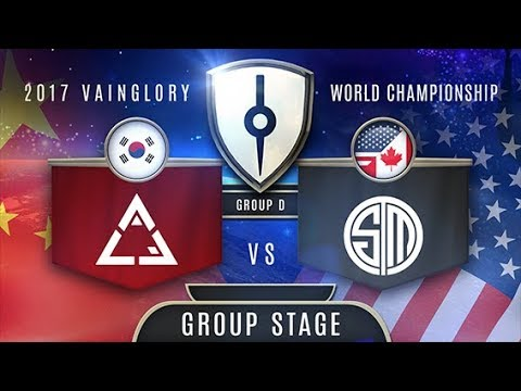 ACE Gaming (EA) VS Team SoloMid (NA) - Razer 2017 Vainglory World  Championship - Group Stage