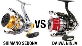 🎣Mulinello Ninja Daiwa vs Sedona FI Shimano