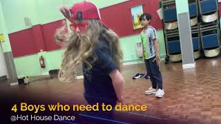 Street Dance 4Boys @ Hot House Dance