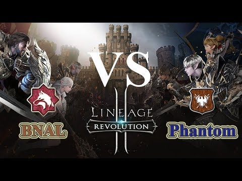 BNAL vs PHANTOM - SERU GILA - Fortress Siege - Lineage 2 Revolution Indonesia