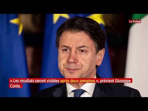 Coronavirus: l'évolution de l'épidémie en Italie