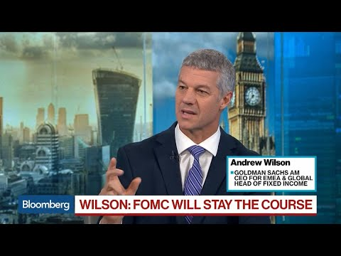 FOMC Will Stay the Course, Goldman's Wilson Says