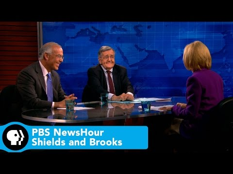 PBS NewsHour |  Shields and Brooks on Obama as reluctant warrior | PBS