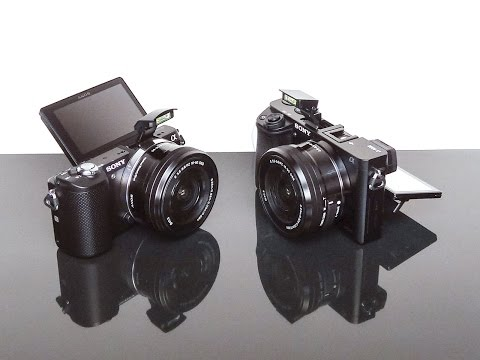 Sony Alpha a5000 Vs a6000 Low Light, Menus & Controls