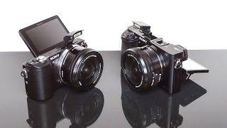 Sony Alpha a5000 Vs a6000 Low Light, Menus & Controls