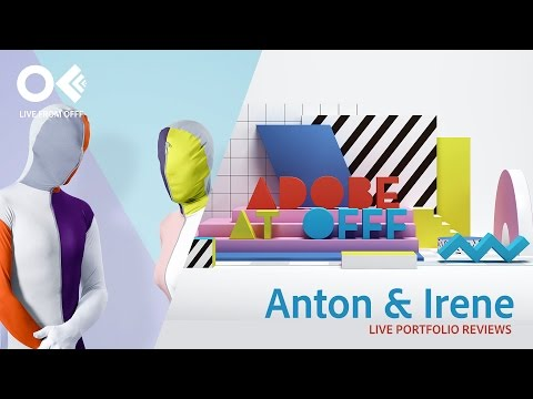 Graphic and Web Designers Anton and Irene | OFFF 2017 | Adobe Creative Cloud