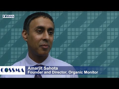 Amarjit Sahota (Organic Monitor): Natural Cosmetics, Fair Trade & Vegan Cosmetics