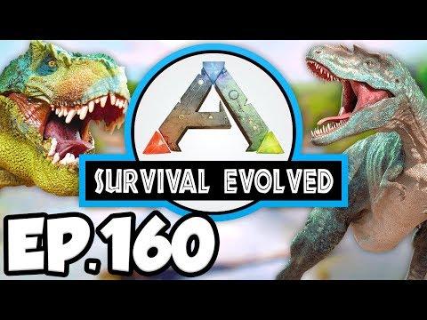 ARK: Survival Evolved Ep.160 - YUTYRANNUS DINOSAURS TAME ATTEMPTS!!! (Modded Dinosaurs Gameplay)