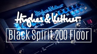 A Tonal Powerhouse at Your Feet! | Hughes & Kettner Black Spirit 200 Floor Amp