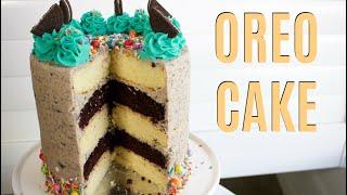 Oreo Sprinkle Cake - CAKE STYLE