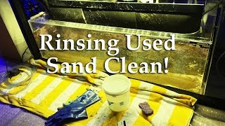 How To Rinse Used Aquarium Sand for Safe Re-Use