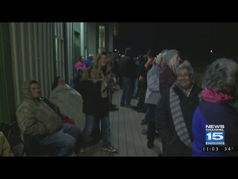 Holiday train comes through Waterloo