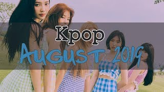 Kpop Playlist August 2019 Mix [재생 목록] 8 월 2019 음악