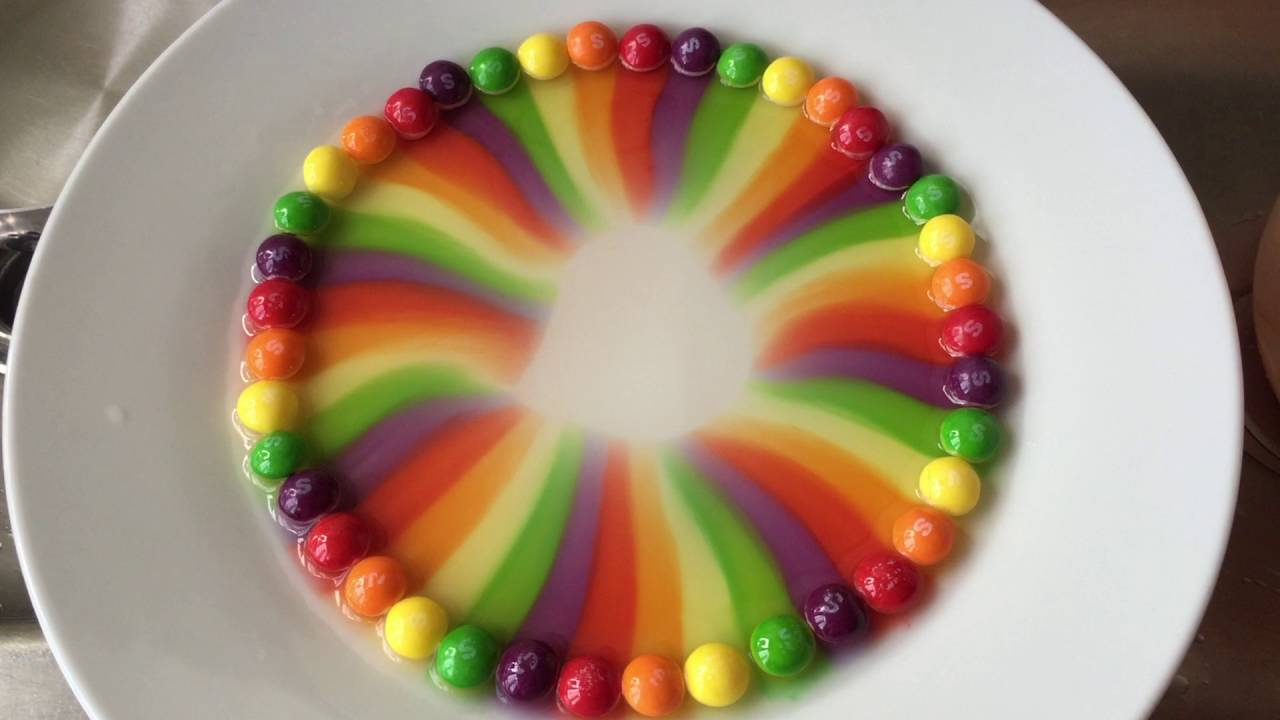 Rainbow Magic with Skittles Candies! - YouTube