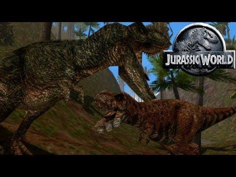 Download Youtube: How Many Tyrannosaurs Are On Isla Sorna - Jurassic Park Isla Sorna - Tyrannosaur Hunters