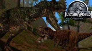 How Many Tyrannosaurs Are On Isla Sorna - Jurassic Park Isla Sorna - Tyrannosaur Hunters