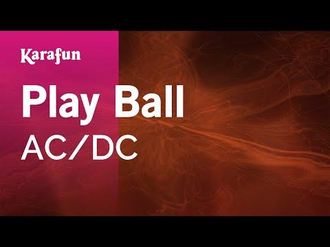 Karaoke Play Ball - AC/DC
