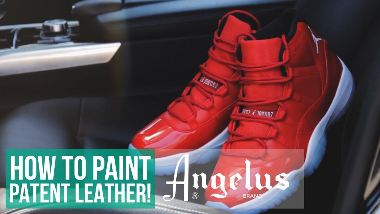 bdaeb160d795 Jordan 11 Custom Patent Leather Walkthrough