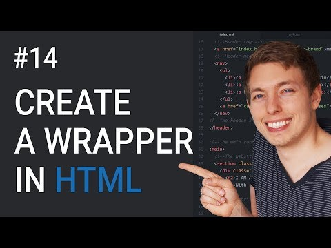 14: How To Create A Wrapper In HTML | Learn HTML And CSS | HTML Tutorial | Basics Of CSS