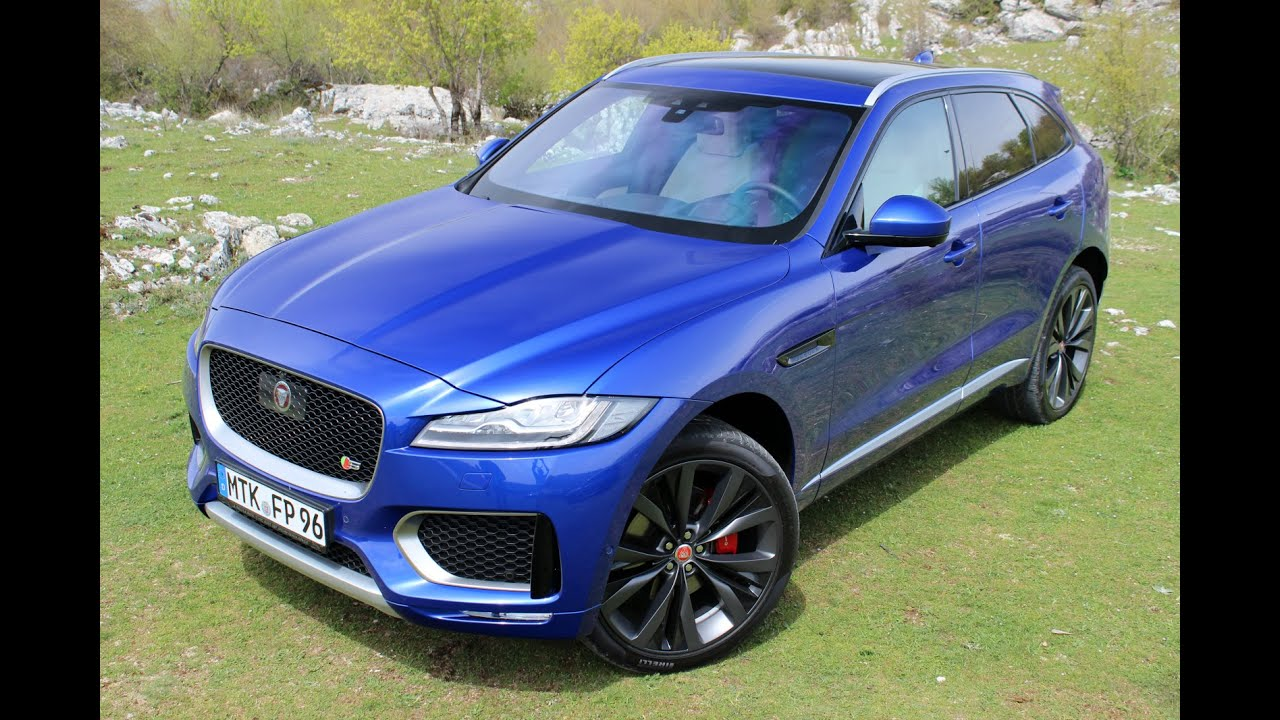 essai jaguar f pace 2016 le porsche macan en ligne de mire youtube. Black Bedroom Furniture Sets. Home Design Ideas