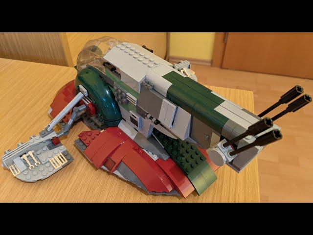 Folge 8 - Lego Star Wars Slave I 8097