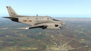 X-Plane 11: #27 von LTCH Sanliurfa, Türkei weiter nach OSKL Qamishli, Syrien