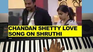 Chandan shetty song on shruthi - keyboard