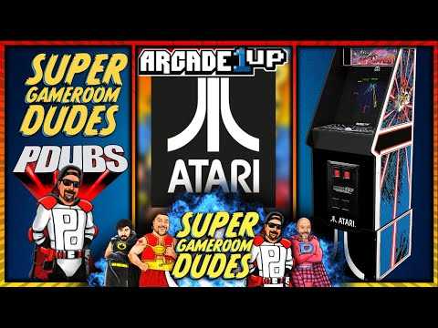 Arcade1Up Atari Legacy Edition Cabinet Gameplay! LIVE! from Super GameRoom Dudes