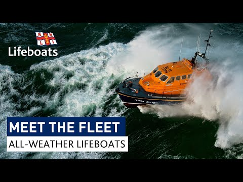 Meet the fleet: RNLI all-weather lifeboat compilation
