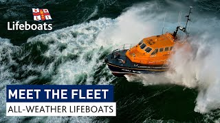 Meet the RNLI's all-weather lifeboats