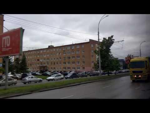 . Пенза-Автовокзал-Проспект Победы-Рамзай. Поездка на автобусе за огород
