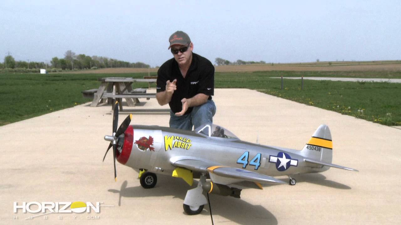HorizonHobby com How To   John Redman Builds the Hangar9 P 47D     HorizonHobby com How To   John Redman Builds the Hangar9 P 47D Thunderbolt  30cc   YouTube