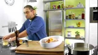 recette de poulet rti  l orange et  l ail