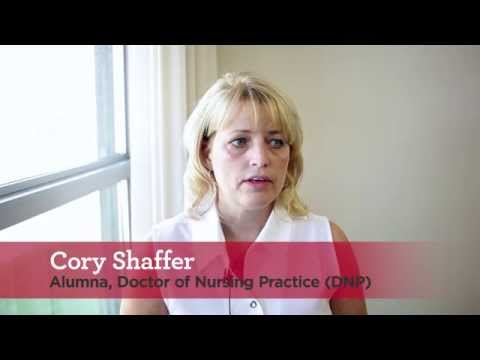 Cory, one of DYC's first Doctor of Nursing Practice (DNP) Graduates Shares Her Experiences